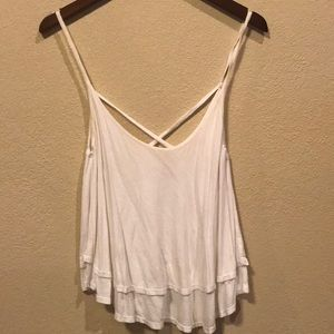 Flowy and layered tank top